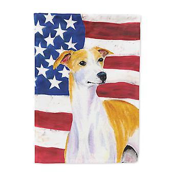 الولايات المتحدة الأمريكية SS4246-العلم-الأصل كارولين كنوز العلم الأمريكي مع العلم الكلب