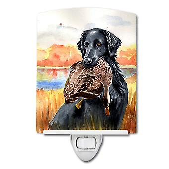 Carolines Treasures  7032CNL Flat Coated Retriever Ceramic Night Light