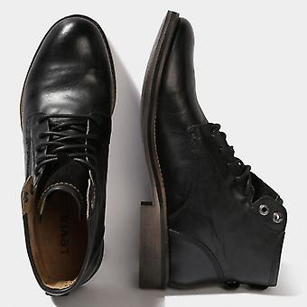 Levis läderstövlar Baldwin - svart