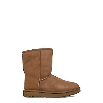 Ugg women's UGSCLSCN1016223W brown leather ankle boots