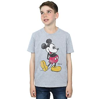 Disney Boys Mickey Mouse Classic Kick T-Shirt