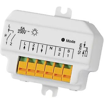 HomeMatic Wireless switch 76794 2-channel Flush m