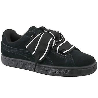 プーマ スエード ハート サテン II 36408401 普遍的なすべての年の女性靴