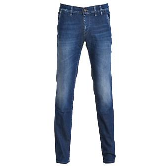 Enterprise men's 36PCJUPA15XD00133D515 blue cotton of jeans