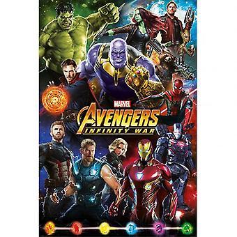 Avengers Poster Infinity War 201