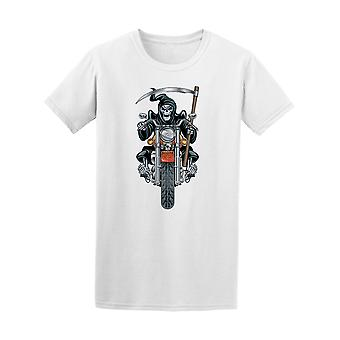 Death Riding Motorcycle Tee Men's -Image by Shutterstock