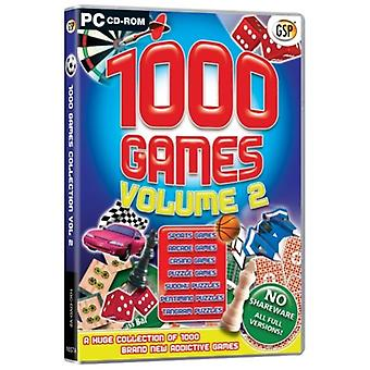 1000 spil bind 2 (PC CD)
