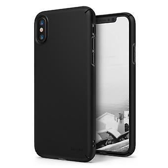 Hard matte black Shell case for iPhone X!