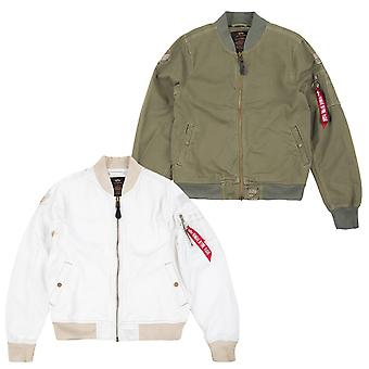 Alpha industries men's jacket ground crew II.