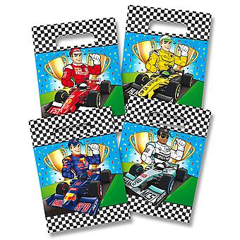 Party bags bags bag formula one Kids Party 8 pieces