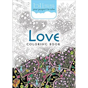 Dover Publications-Bliss Coloring: Love