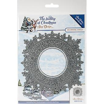 Find It Trading Amy Design The Feeling Of Christmas Die-Ice Crystal Circle