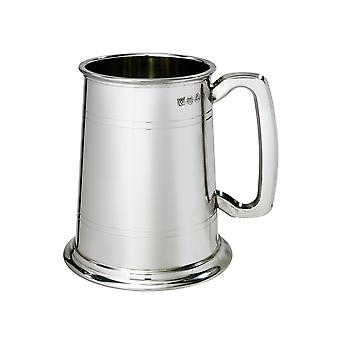 Double Lined 1 Pint Pewter Tankard