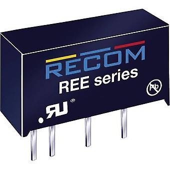 RECOM REE-0505S DC/DC converter (print) 5 Vdc 5 Vdc 200 mA 1 W No. of outputs: 1 x