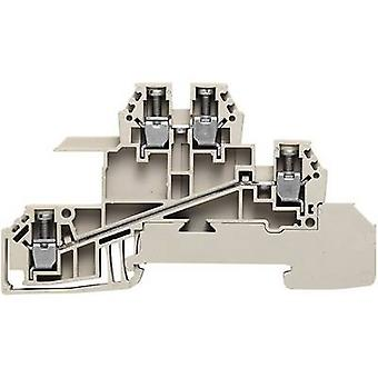Distributor serial terminals WDL 2.5 S for 10 x 3 mm busbar WDL 2.5/S/L/L 1031200000