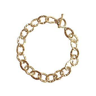 Gemshine - ladies - unisex - bracelet - gold plated - 19 cm
