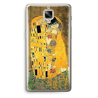 OnePlus 3T Transparent Case (Soft) - Der Kuss
