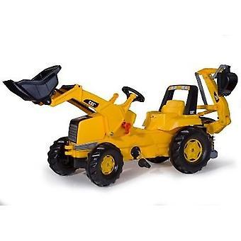 Rolly Toys CAT 813001 RollyJunior traktor med lastare och traktorgrävare