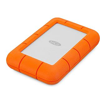 LaCie 4TB Rugged Mini USB 3.0 Portable 2.5 Inch Shock, Drop and Crush Resistant External Hard Drive for PC and Mac (LAC9000633)