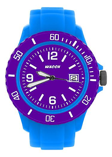Waooh - Watch Dial & Bezel MONACO38 Turquoise Color