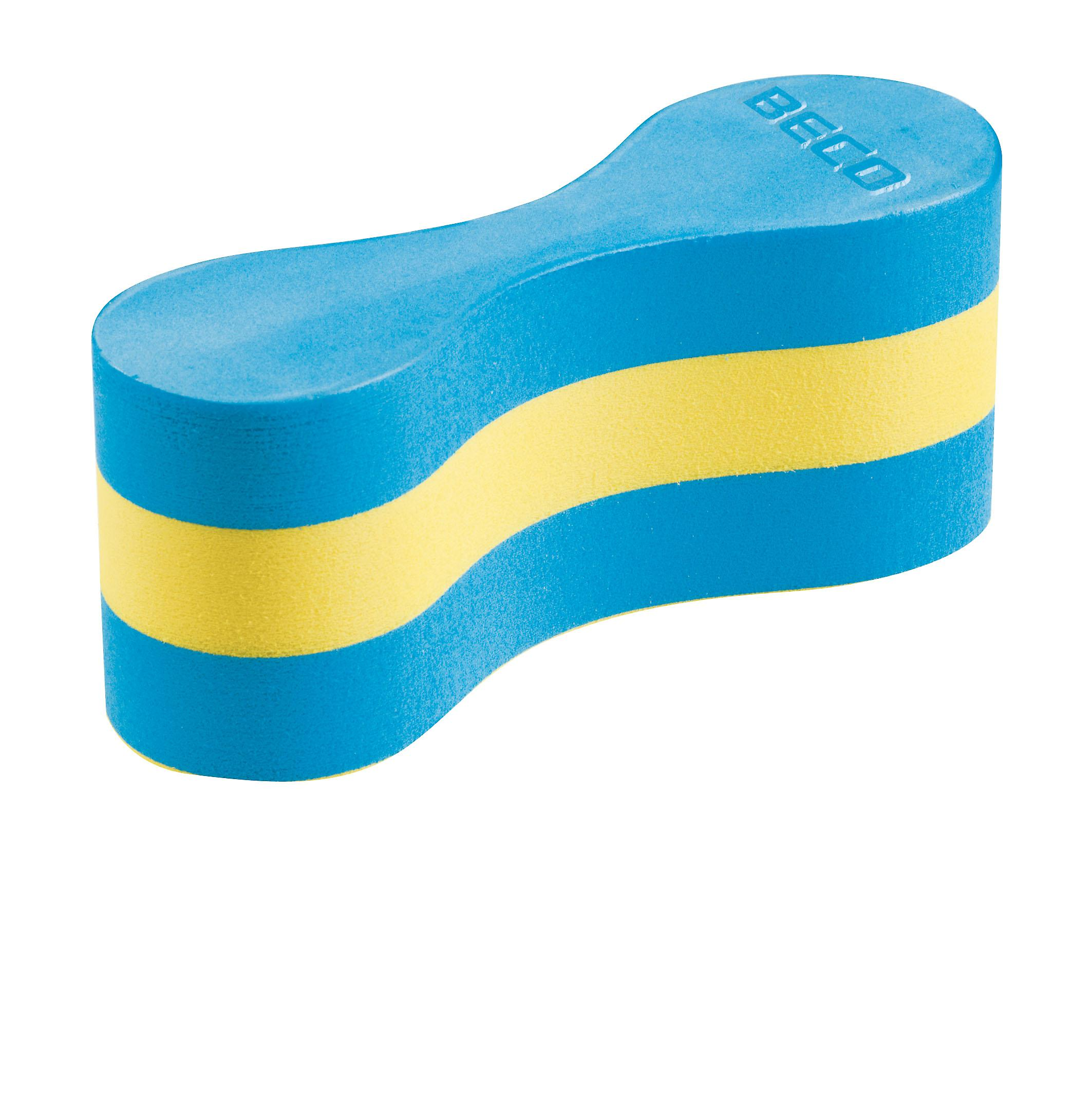 BECO Pull Buoy Small - Blauw / Geel