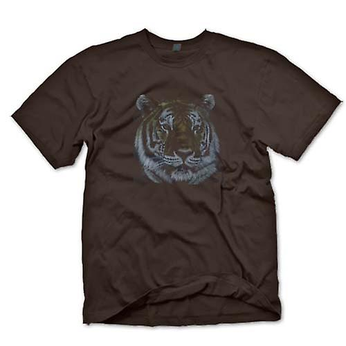 Mens T-shirt - Tiger - Wildlife