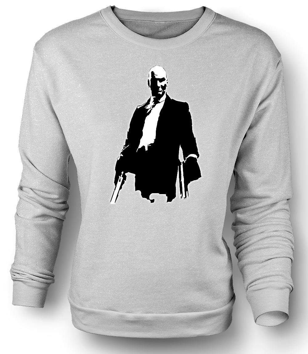Mens Sweatshirt Hitman - Game - Cult