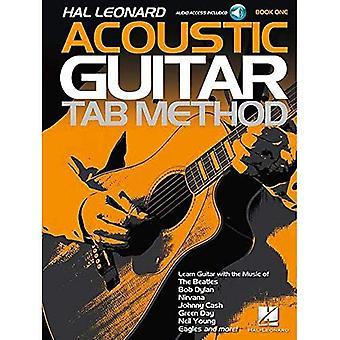 HAL Leonard akustisk gitarr fliken metod bok 1