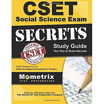 CSET Social Science Exam Secrets Study Guide: CSET Test Review for the California Subject Examinations for Teachers...