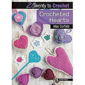 Corazones crochet (veinte para hacer)