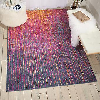 Passion Nourison PSN09 Multicoloured  Rectangle Rugs Funky Rugs
