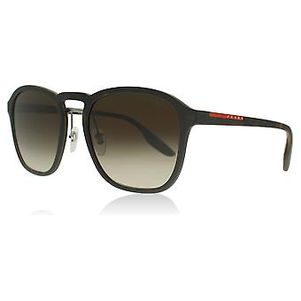 Prada Sport PS02SS U616S1 Havana Rubber PS02SS Square Sunglasses Lens Category 3 Size 55mm