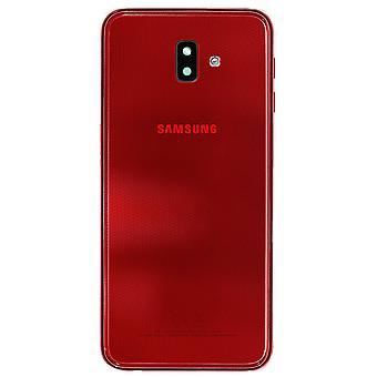 Oryginalna Samsung Galaxy J6 + pokrywa czerwony baterii | iParts4u