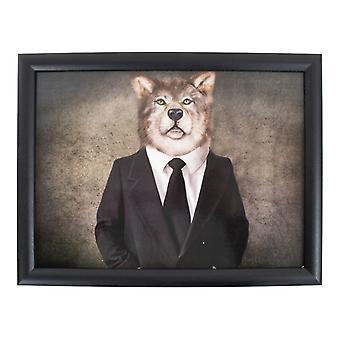 Schootkussen mr Wolf