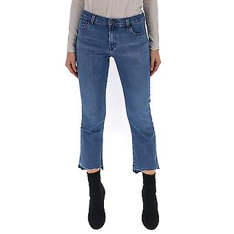 J Brand Blue Cotton Jeans