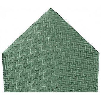 David Van Hagen sildeben silke tørklæde - Duck æg grøn
