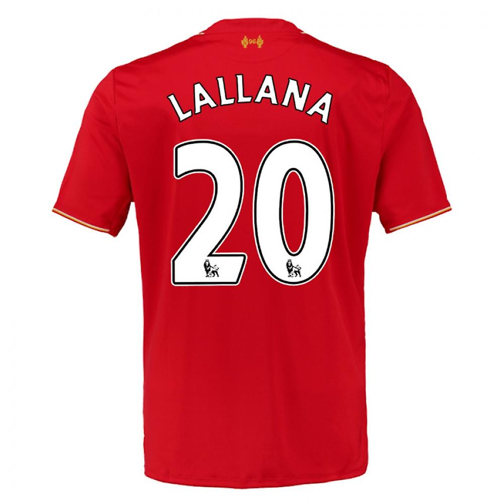 2015-16 Liverpool Home Shirt (Lallana 20)
