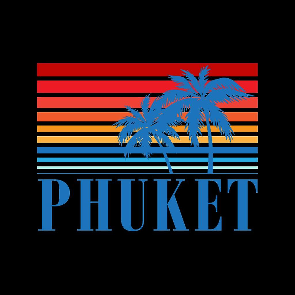 Phuket Retro jaren 70 zonsondergang Kid de Hooded Sweatshirt