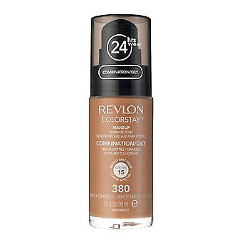 Revlon Colorstay Foundation for Combination/Oily Skin, #380 Rich Ginger