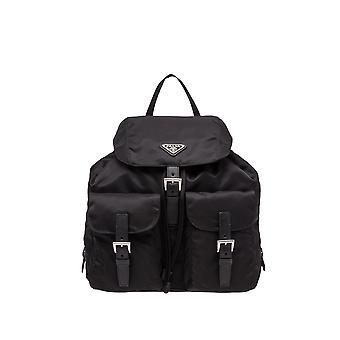حقيبة قماش أسود برادا