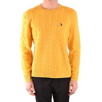 Ralph Lauren Yellow Wool Sweater