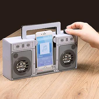 Retro Touch Boombox Speaker