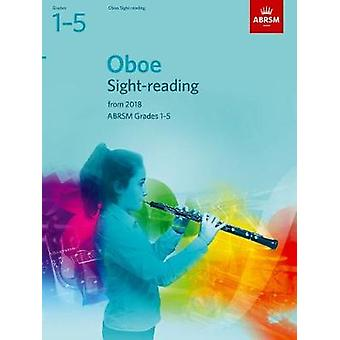 Oboe Sight-Reading Tests - ABRSM Grades 1-5 - from 2018 - 978184849981