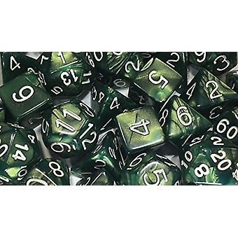 SmaragdDragon Shimmer Poly 15 Set Dice