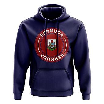 Bermuda Football Badge Hoodie (Navy)
