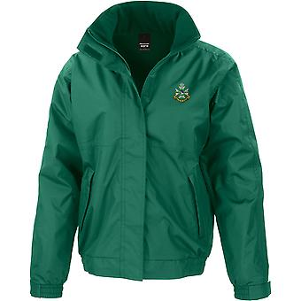 Sherwood Foresters - Licensed British Army Embroidered Waterproof Jacket With Fleece Inner