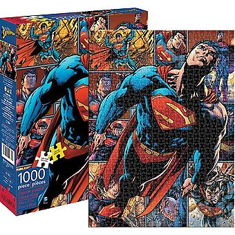 DC Comics Superman 1000 bit pussel 690 x 510 mm (nm 65268)