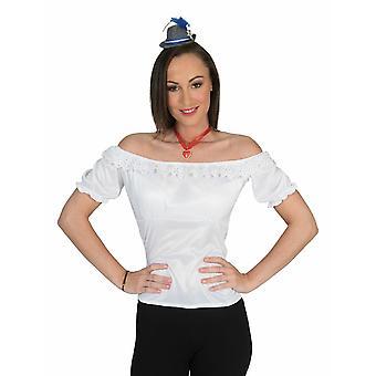 Oktoberfest Costumes Women's Blouse Annemarie Women's Costume Carnival Carnival Wiesn Party