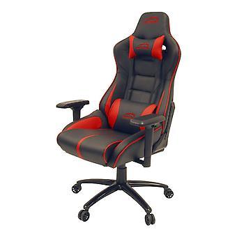 SpeedLink Ariac Gaming Stuhl mit 4D Armlehnen und 360 Grad Schwenk schwarz/rot