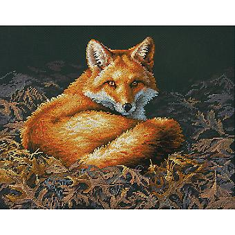 Sunlit Fox Counted Cross Stitch Kit-14